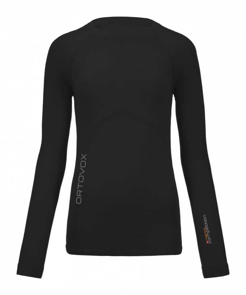 Ortovox 230 Merino Competition Long Sleeve W - tričko Barva: black raven, Velikost: S