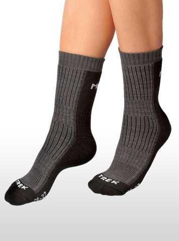 Moira Trek PO/TK1 - ponožky Barva: tmavě šedá, Velikost: 12-13