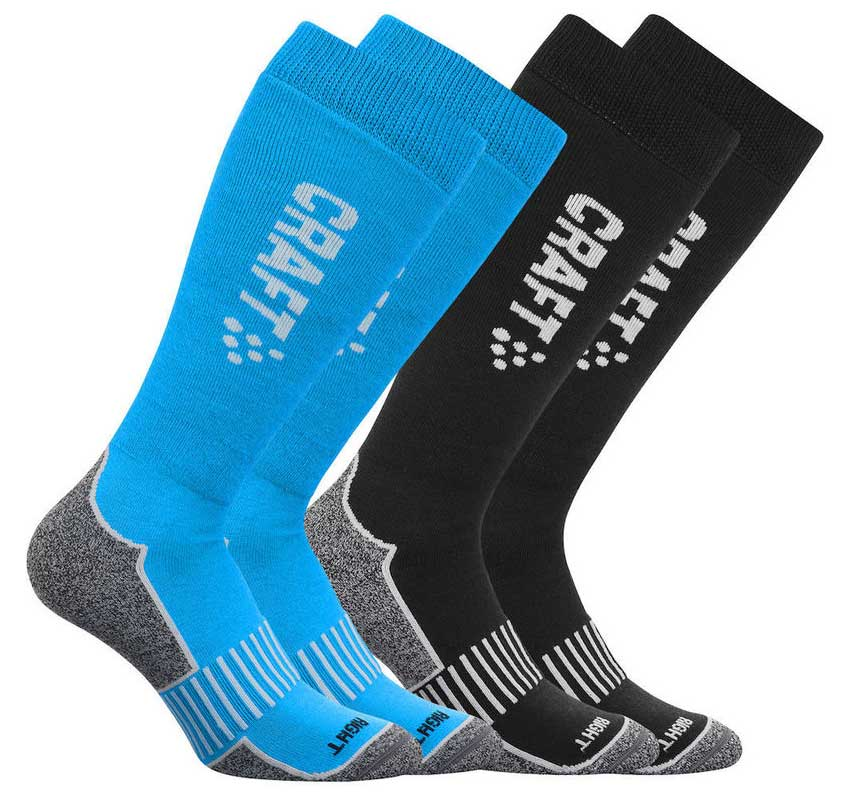 Craft Warm Multi (2-páry) - ponožky Barva: horizon, Velikost: 46-48