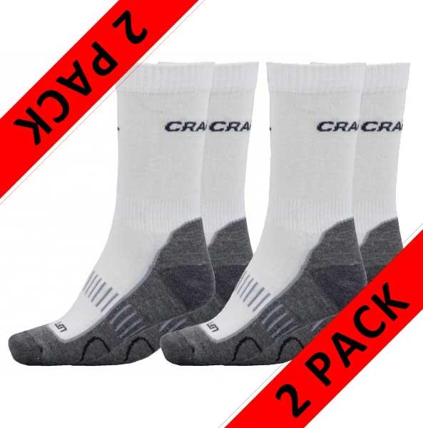 Craft Active Basic (2-páry) - ponožky Barva: white, Velikost: 37-39