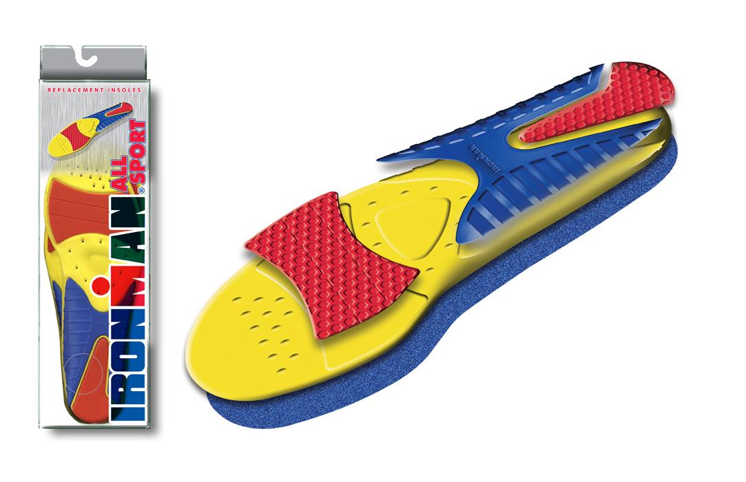 Spenco Ironman All Sport - vložky do bot Velikost: 11-12 UK