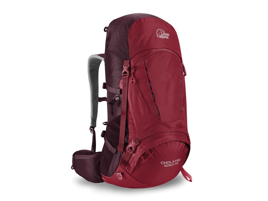 Lowe Alpine Cholatse ND 60:70 - batoh Barva: rio red/fig, Objem: 60:70