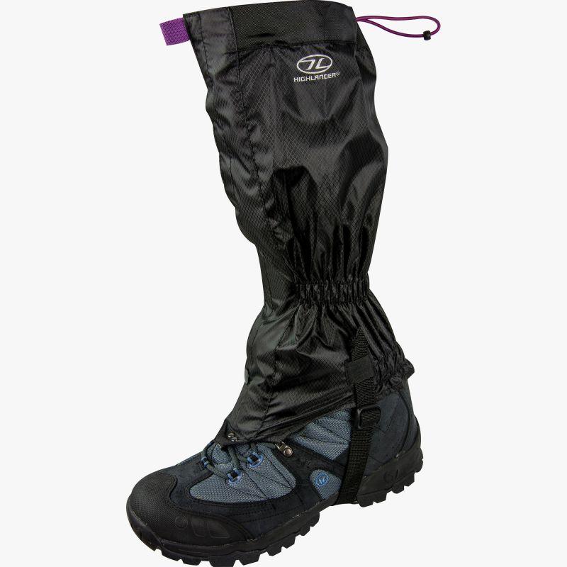 Montane VIA Trail Gaiter - návleky Barva  black a1407de51b