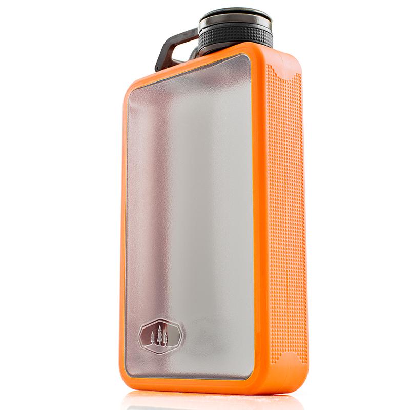 GSI outdoors Boulder Flask 296ml - placatka Barva: orange
