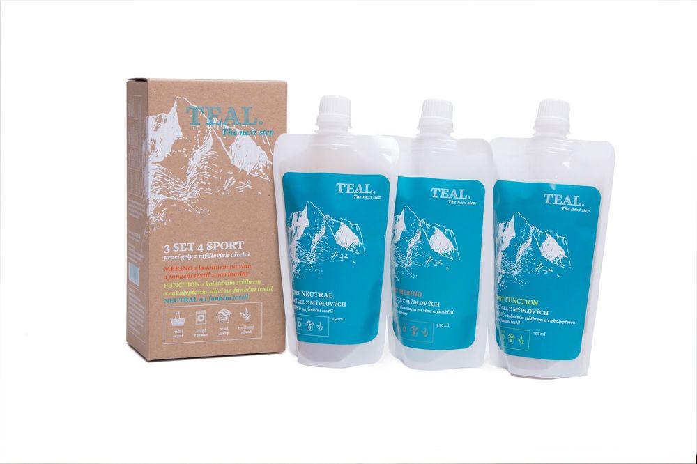 Teal 3 Set 4 Sport - 3 x 250 ml