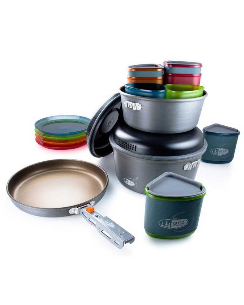 GSI outdoors Pinnacle Camper - sada nádobí