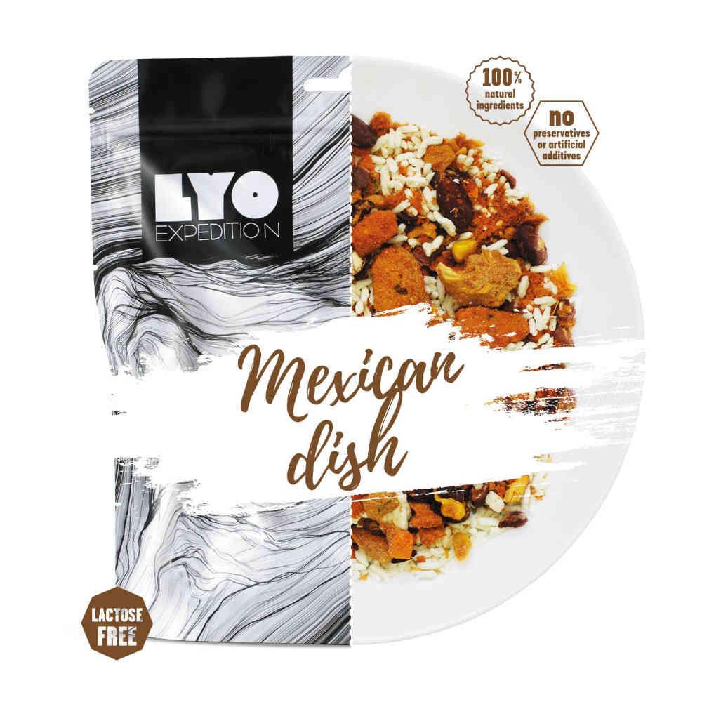Lyofood Mexická pánev velká porce 126g