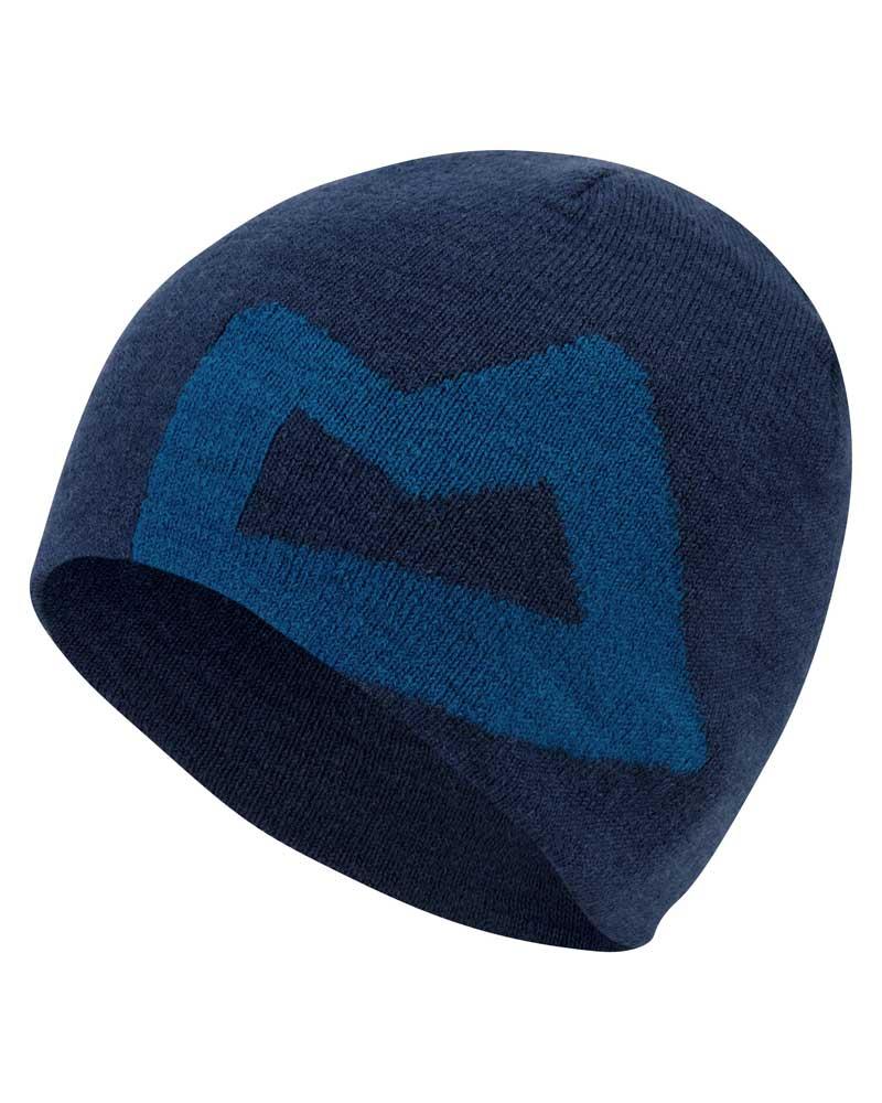 Mountain Equipment Branded Knitted Beanie - čepice Barva: Marine/Lagoon