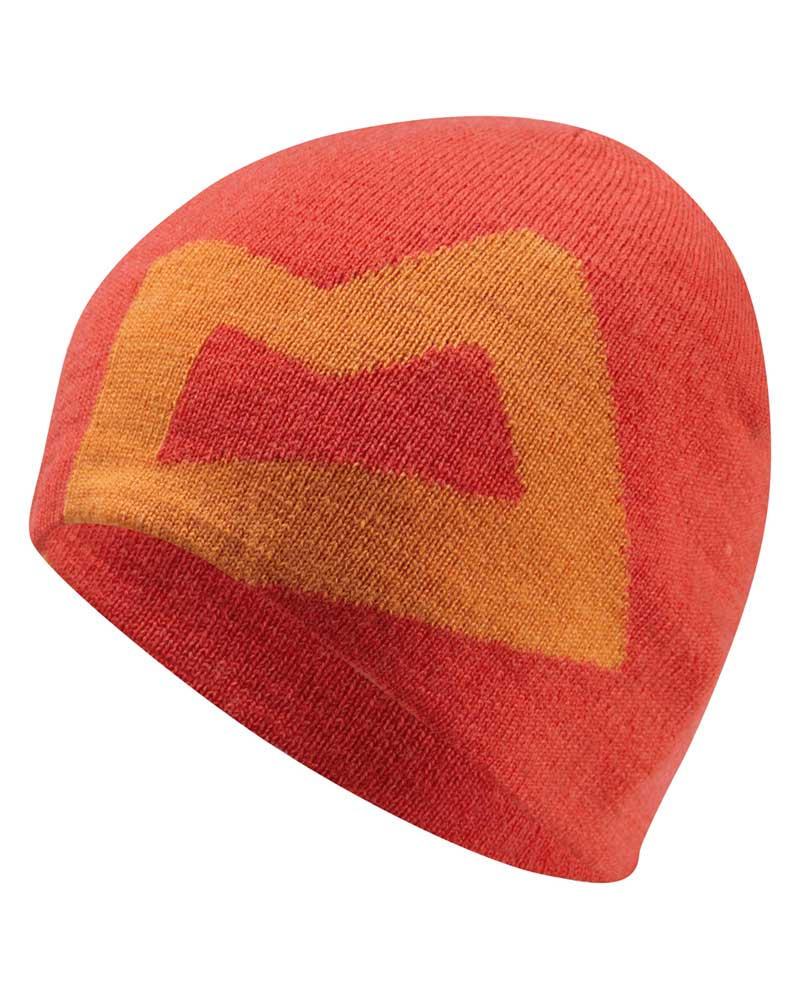 Mountain Equipment Branded Knitted Beanie - čepice Barva: Cardinal/Russet
