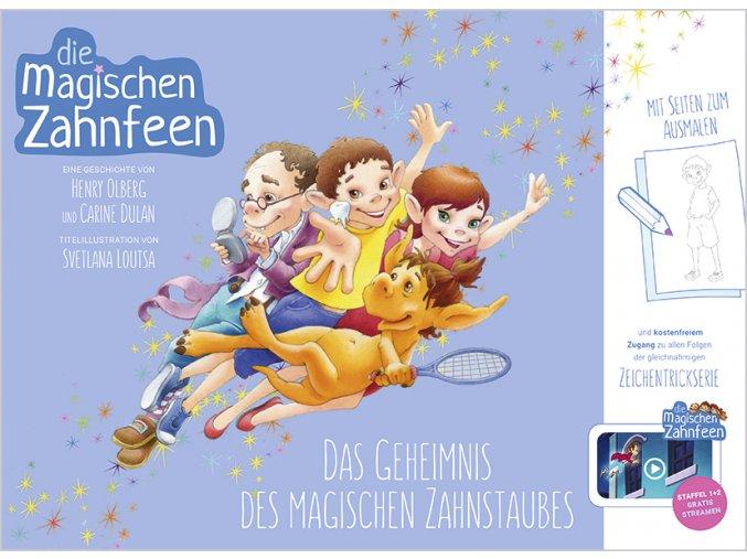 82010 Cover Olberg Duran Die magischen Zahnfeen Das Geheimnis des magischen Zahnstaubes Bd1