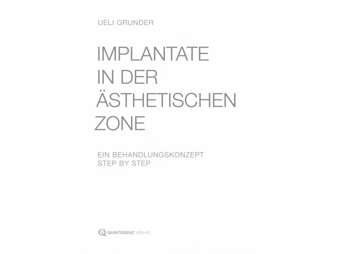Implantate in der ästhetischen Zone
