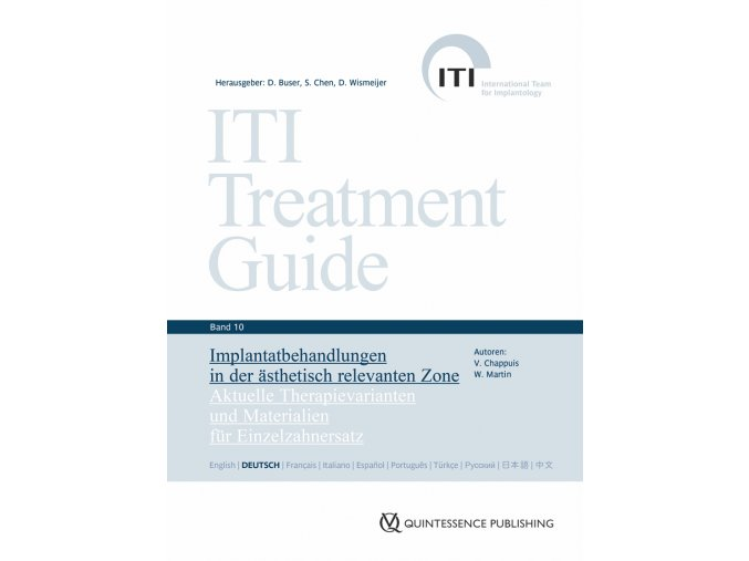 20180 Cover ITI Band10 Implantatbehandlungen in der aesthetisch relevanten Zone
