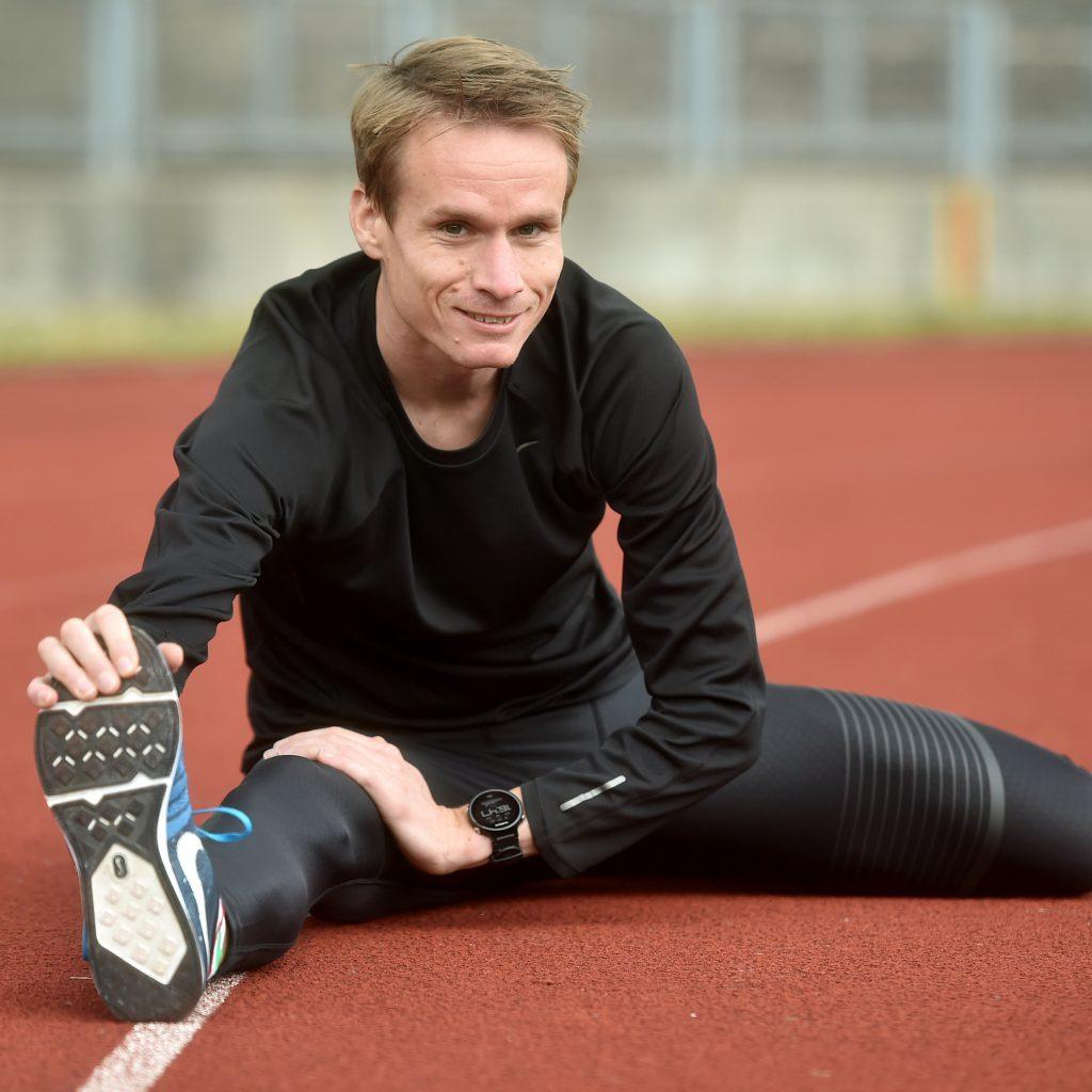 Český běžec Vít Pavlišta užívá Totum Sport