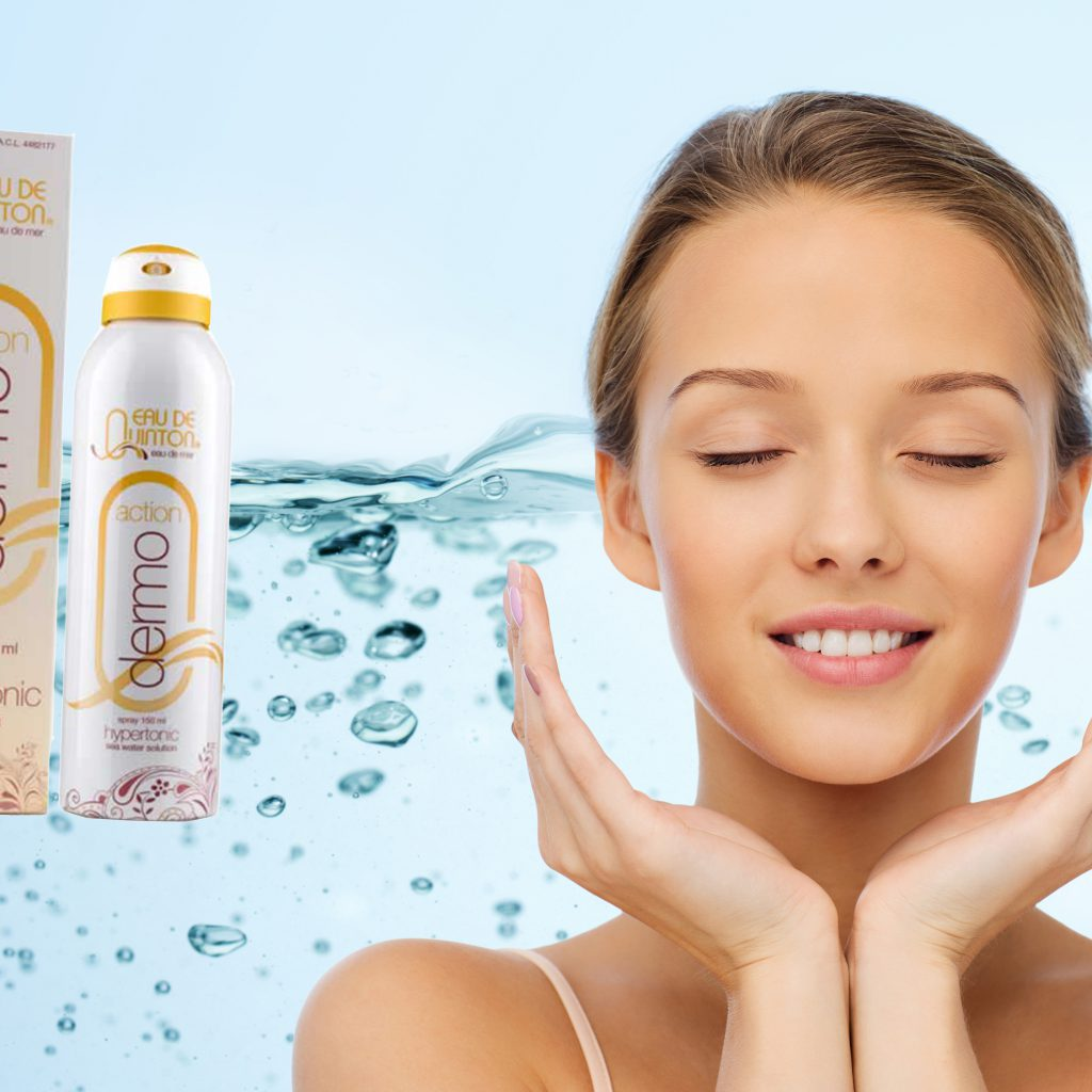 Hydratace pokožky mořskou vodou