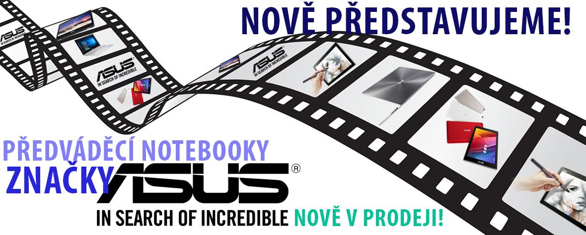 ASUS předváděcí notebooky nově v prodeji!
