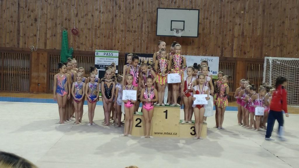 Podporujeme mladé naděje moderní gymnastiky