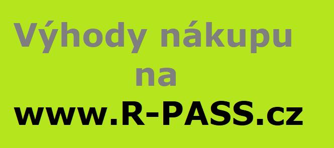 VÝHODY NÁKUPU NA www.R-PASS.cz