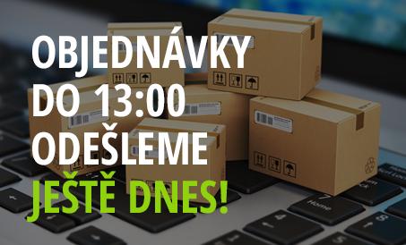 Objednávky do 13:00 odešleme ještě dnes!