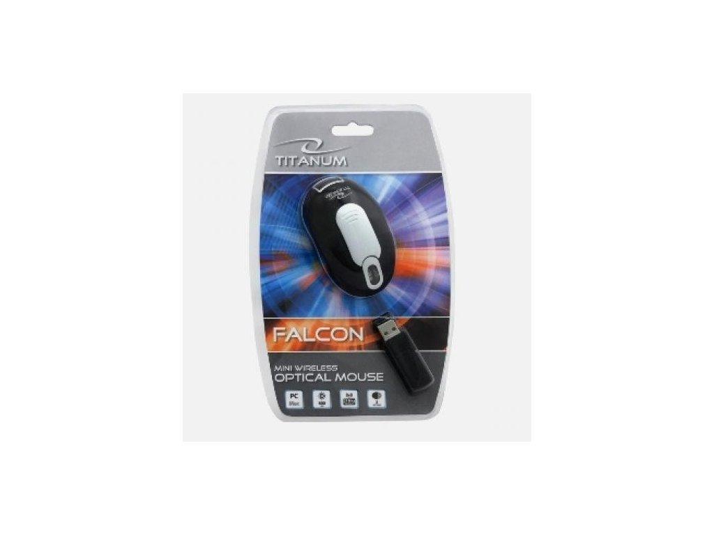 Myš Titanium, Falcon, 800 DPI, bezdrátová