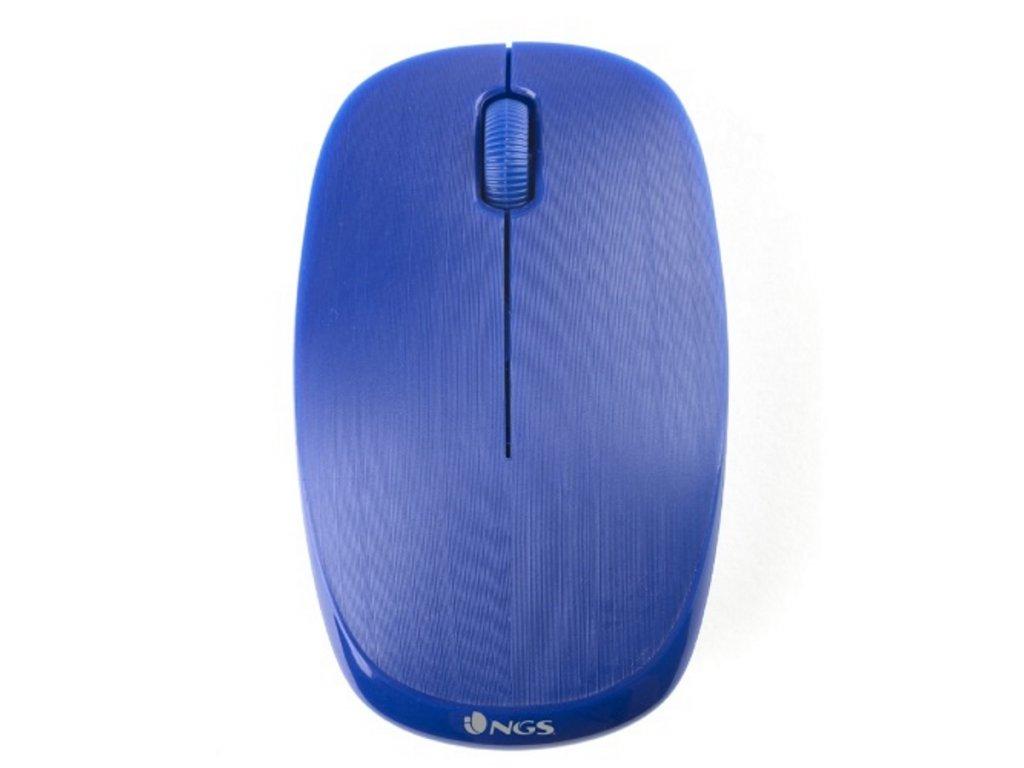 NGS myš FOG, USB bezdrátová 1000 DPI, modrá ...1