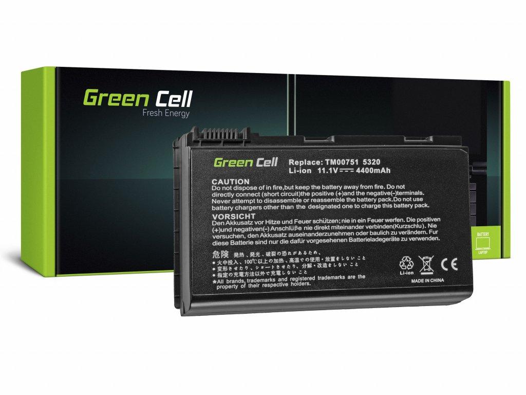 Baterie pro Acer TravelMate 5220 5520 5720 7520 7720 / 11,1V 4400mAh