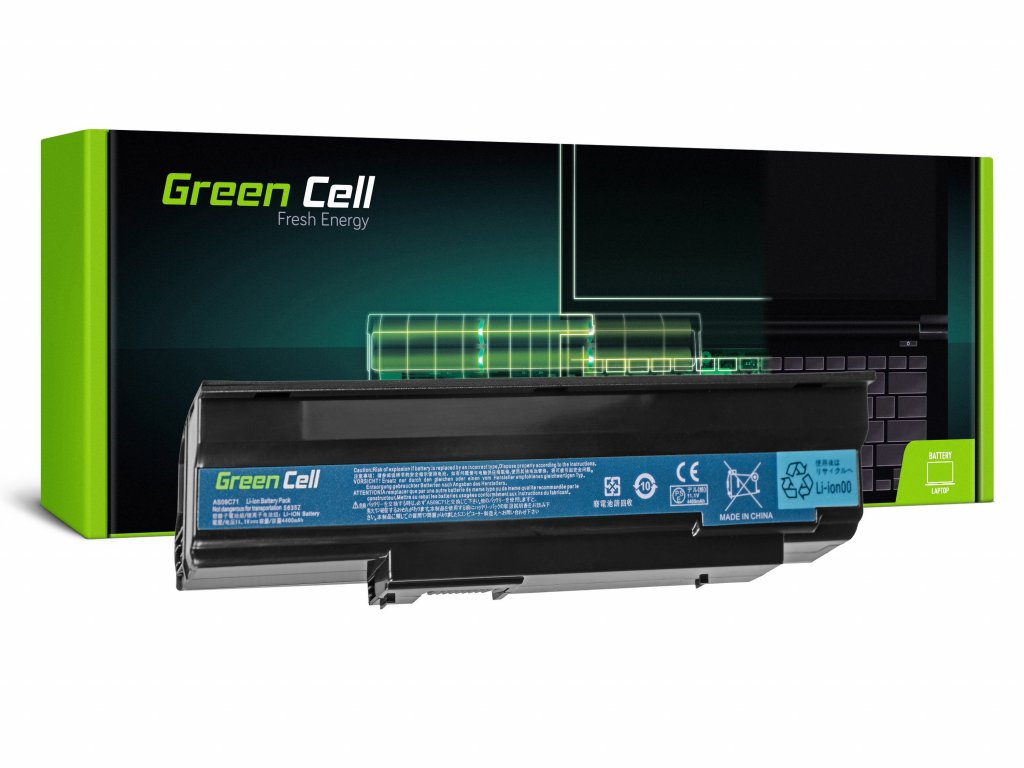 Baterie pro Acer Extensa 5235 5635 5635Z 5635G 5635ZG / 11,1V 4400mAh