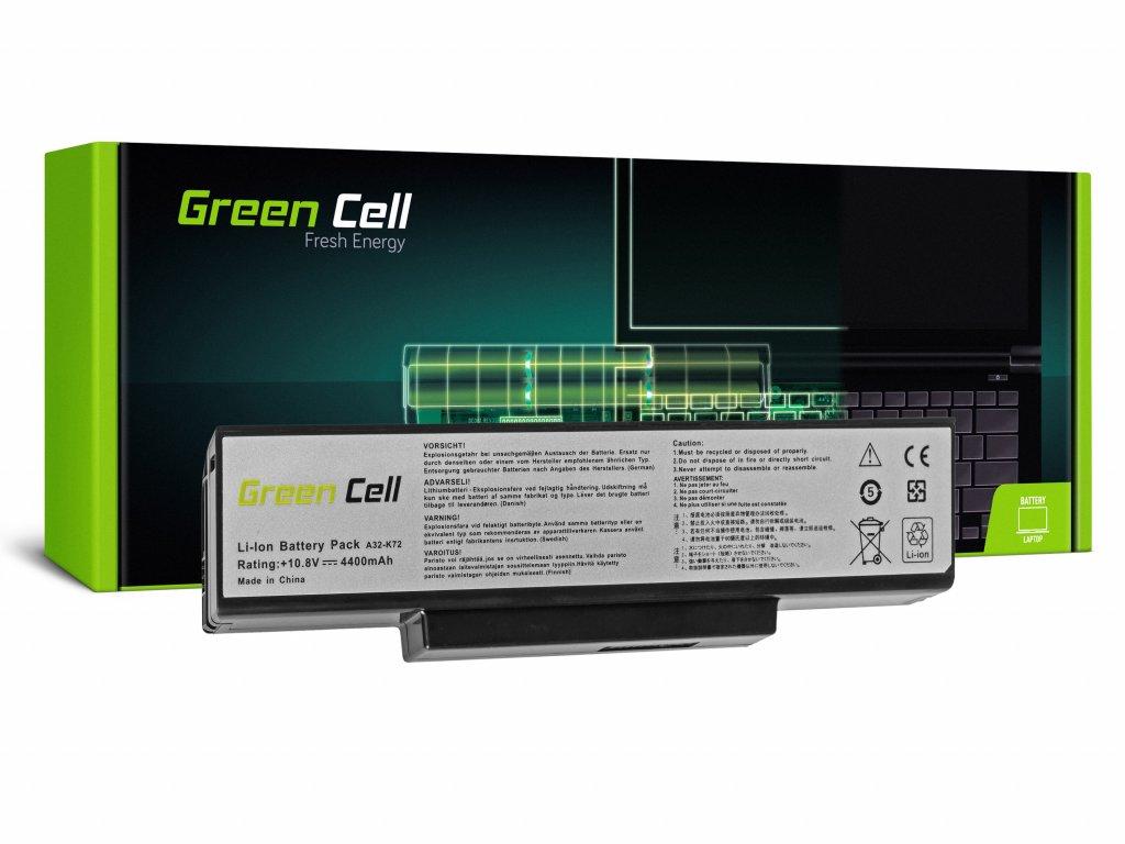 Baterie pro Asus A32-K72 K72 K73 N71 N73 / 11,1V 4400mAh