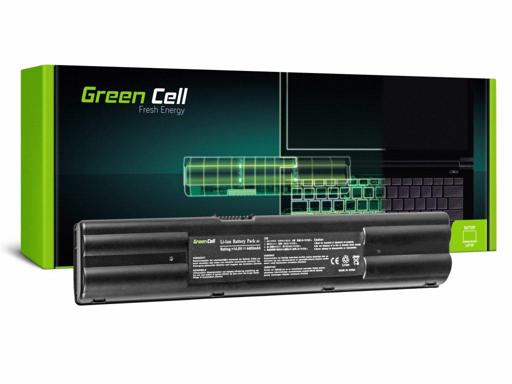 Baterie pro Asus A3 A3A A3000 A6 A6M A6R A6000 A7 G1 G2 / 14,4V 4400mAh