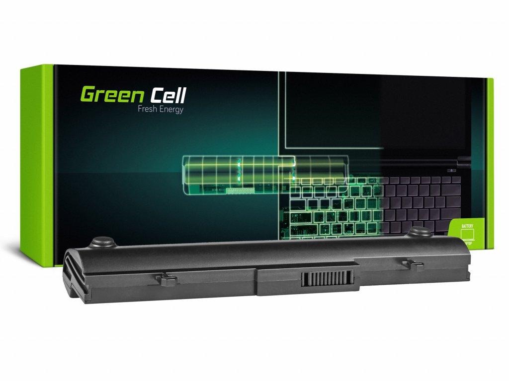 Baterie pro Asus Eee-PC 1001 1001P 1005 1005P 1005H (black) / 11,1V 4400mAh