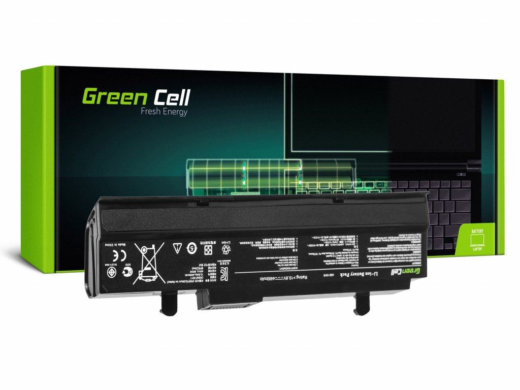Baterie Asus Eee-PC 1015 1215 1215N 1215B (black) / 11,1V 4400mAh
