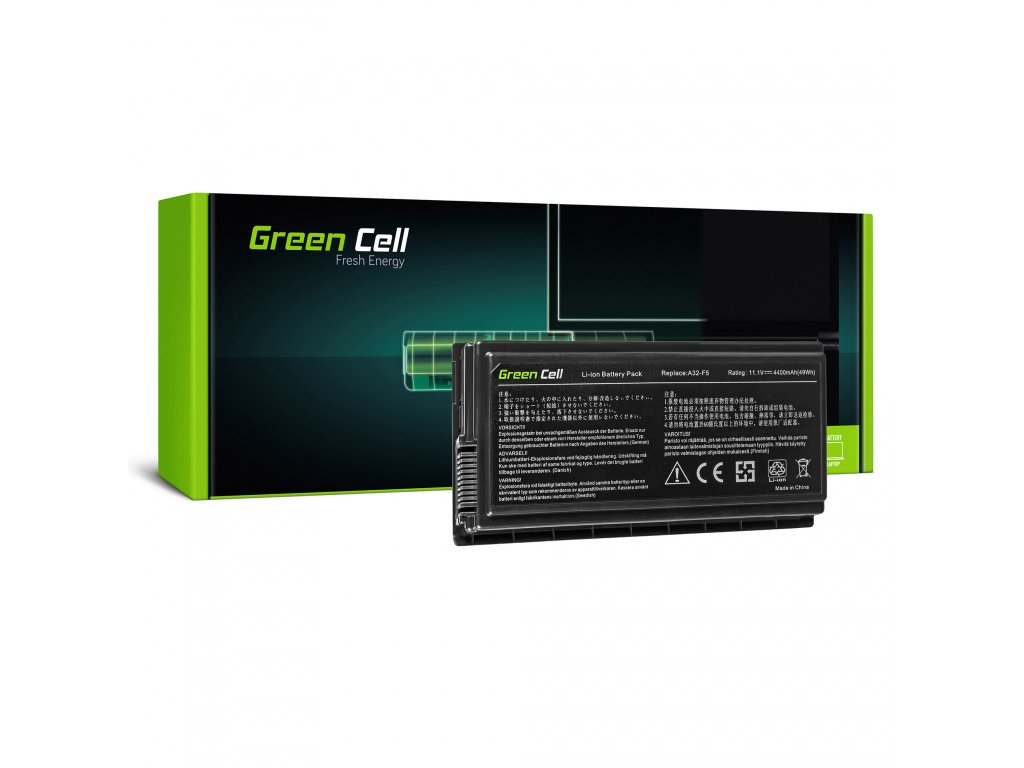 Baterie Asus F5N F5R F5V F5M F5RL X50 X50N X50RL / 11,1V 4400mAh