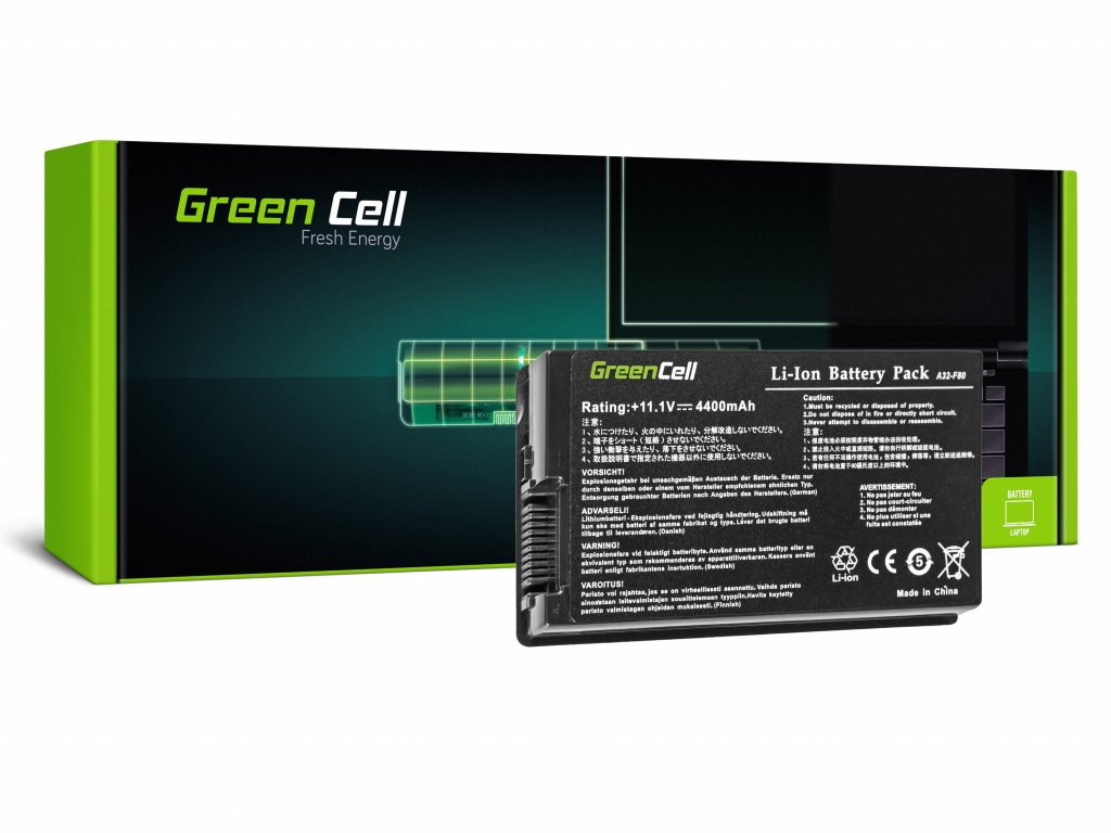 Baterie pro Asus F50 F80S N60 X60 X61 / 11,1V 4400mAh