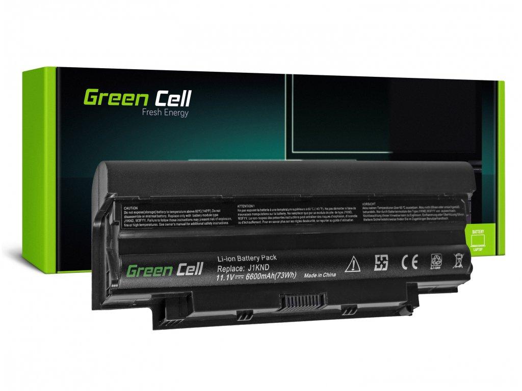 Baterie pro Dell Inspiron N3010 N4010 N5010 13R 14R 15R J1 (rear) / 11,1V 6600mAh