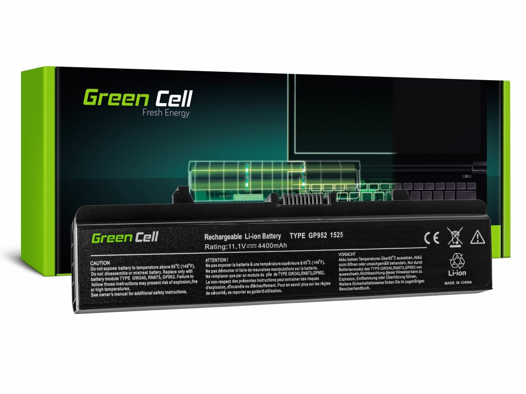 Baterie Dell Inspiron 1525 1526 1545 1546 PP29L PP41L / 11,1V 4400mAh