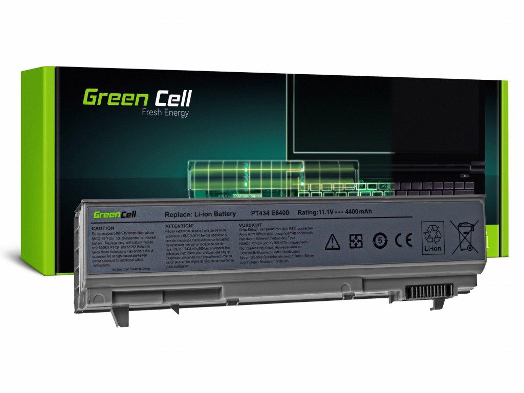 Baterie pro Dell Latitude E6400 E6410 E6500 E6510 / 11,1V 4400mAh