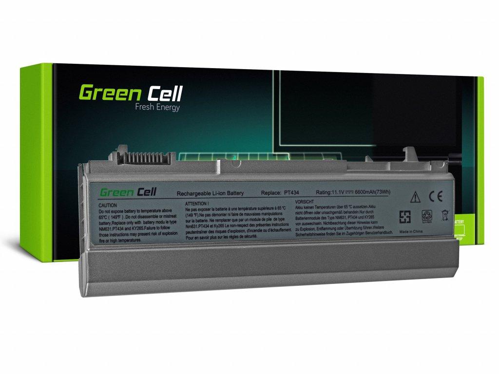 Baterie pro Dell Latitude E6400 E6410 E6500 E6510 / 11,1V 6600mAh