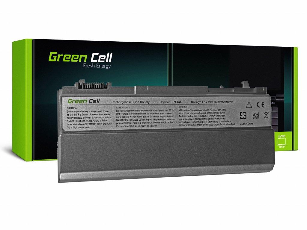 Baterie pro Dell Latitude E6400 E6410 E6500 E6510 (rear) / 11,1V 8800mAh