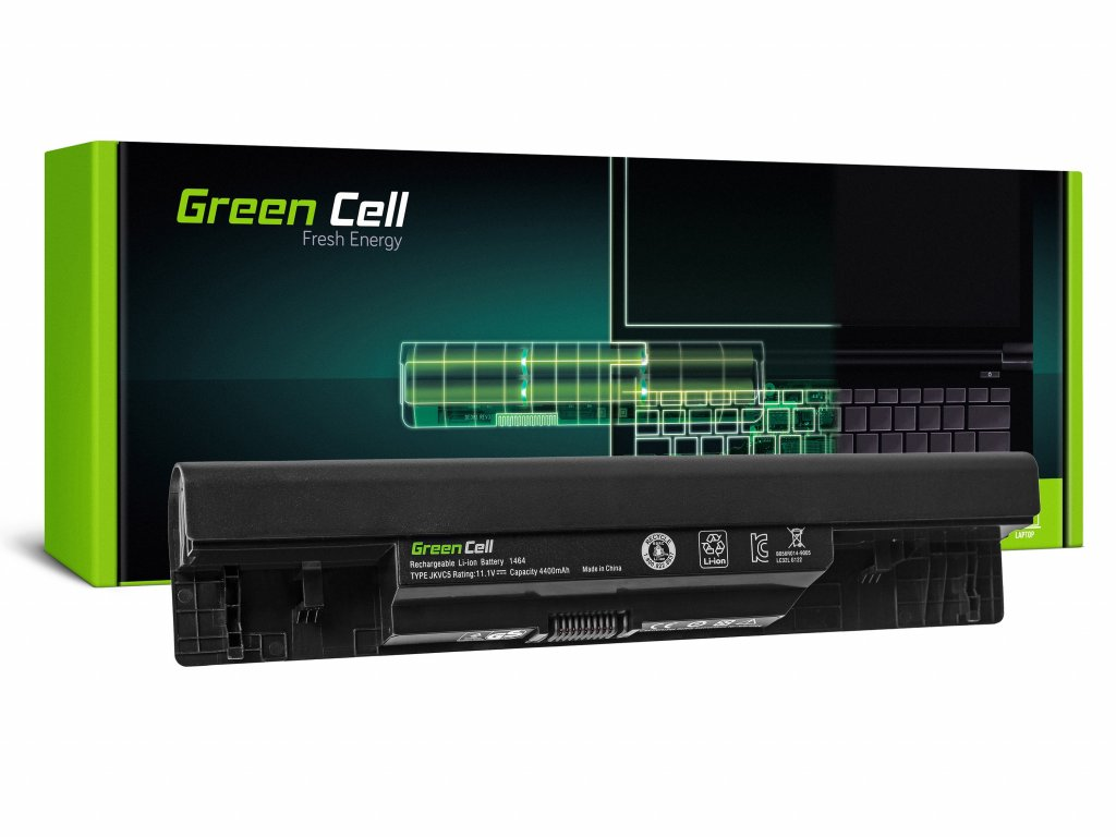 Baterie pro Dell Inspiron 14 1464 15 1564 17 1764 / 11,1V 4400mAh