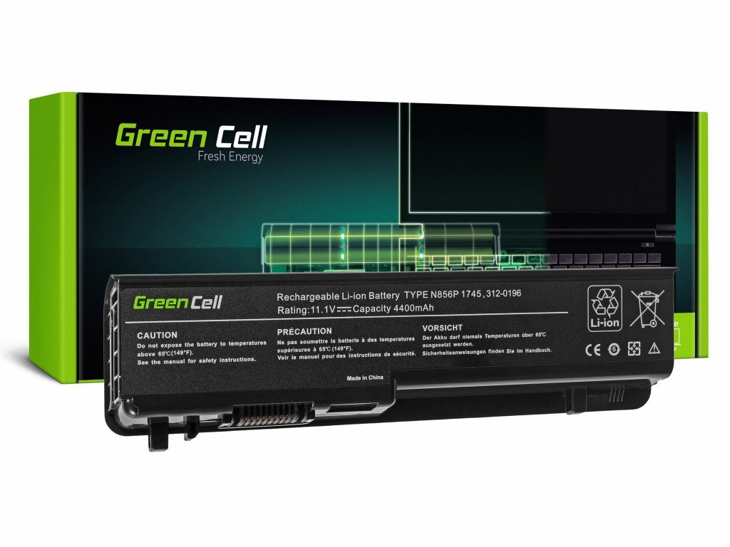 Baterie pro Dell Studio 17 1745 1747 1749 / 11,1V 4400mAh