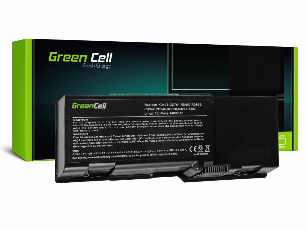 Baterie pro Dell Inspiron E1501 E1505 1501 6400 / 11,1V 4400mAh