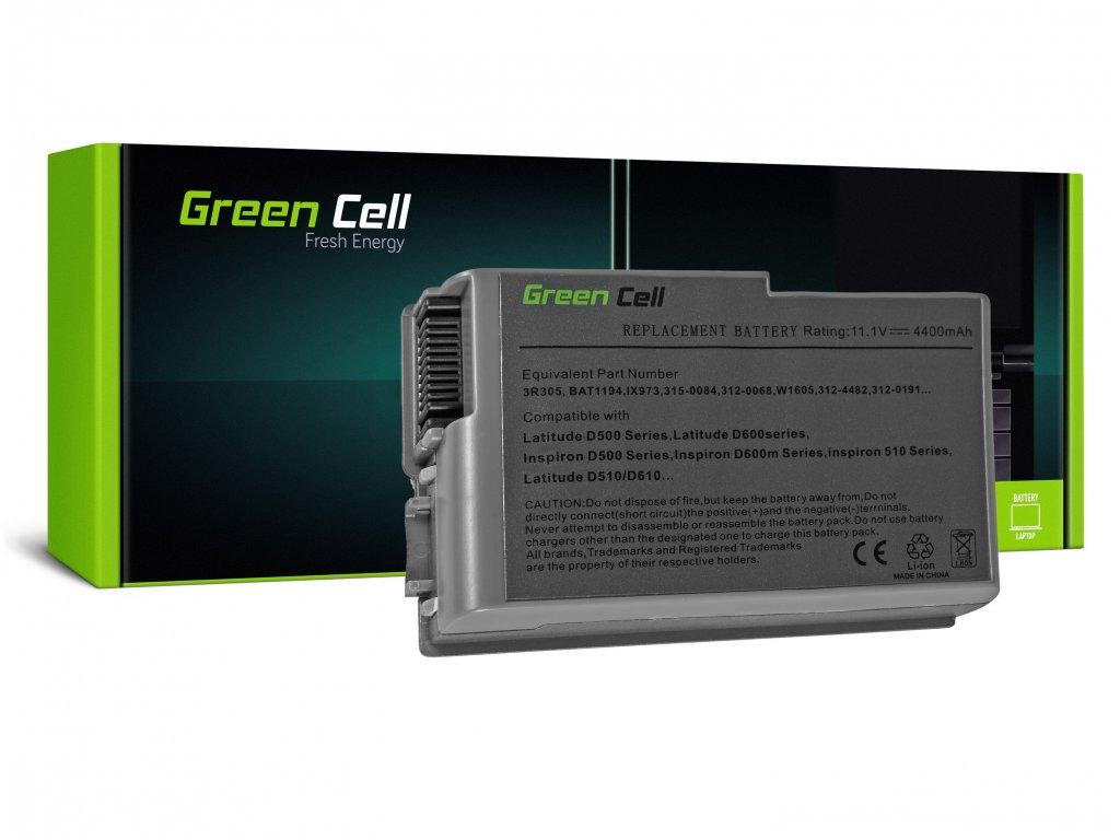Baterie pro Dell Latitude D500 D505 D510 D520 D530 D600 D610 / 11,1V 4400mAh