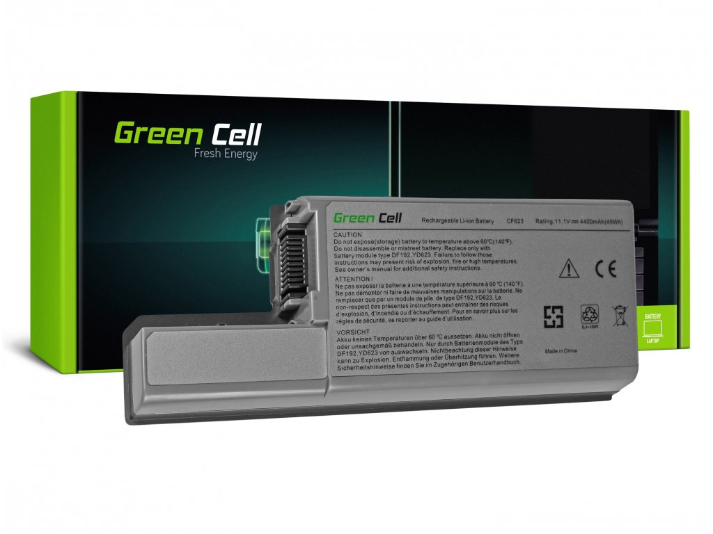 Baterie pro Dell Latitude D531 D531N D820 D830 PP04X / 11,1V 4400mAh