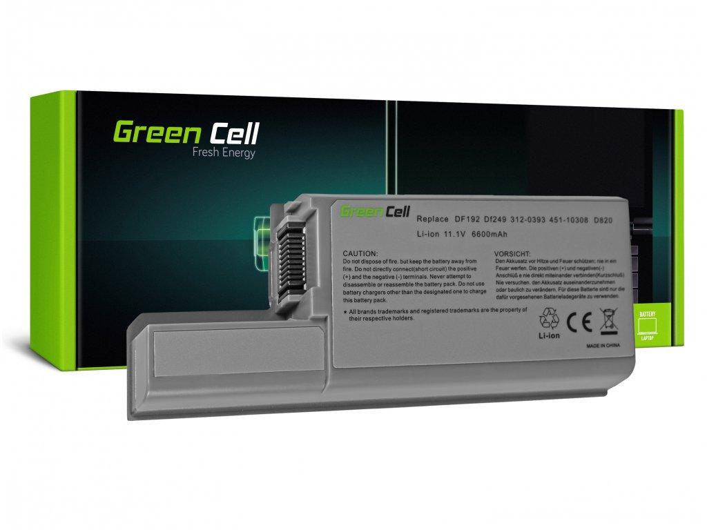 Baterie pro Dell Latitude D531 D531N D820 D830 PP04X / 11,1V 6600mAh