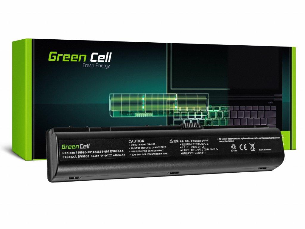Baterie pro HP DV9000 DV9500 DV9600 DV9700 DV9800 / 14,4V 4400mAh