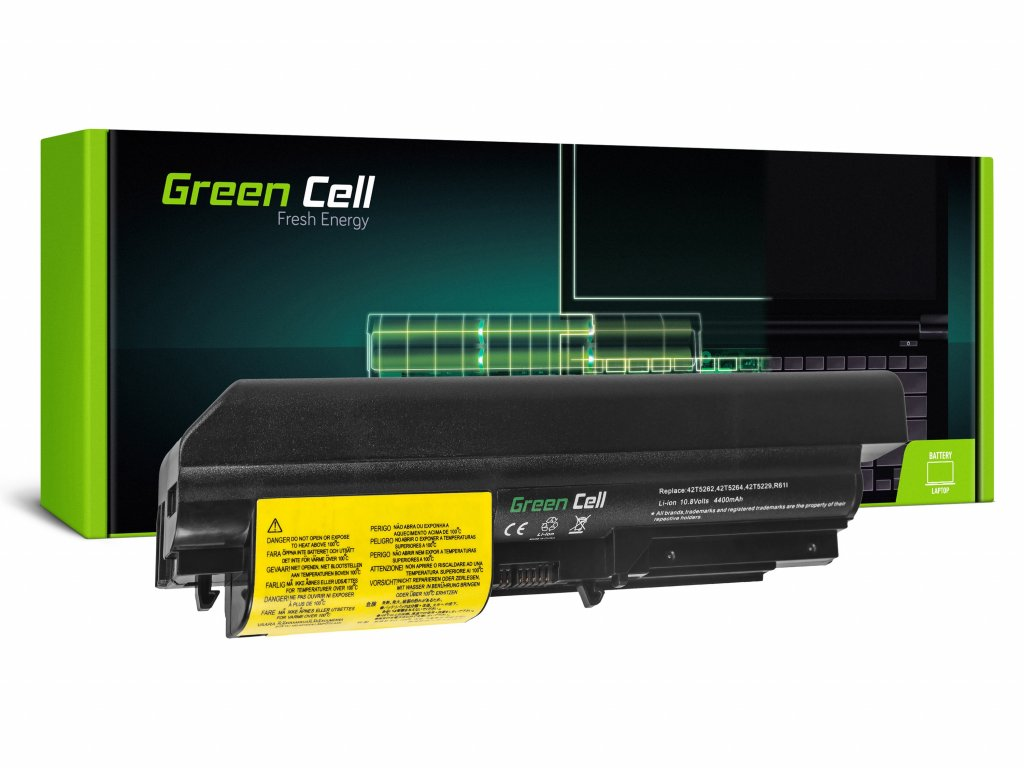 Baterie pro Lenovo ThinkPad R61 T61p R61i R61e R400 T61 T400 / 11,1V 4400mAh