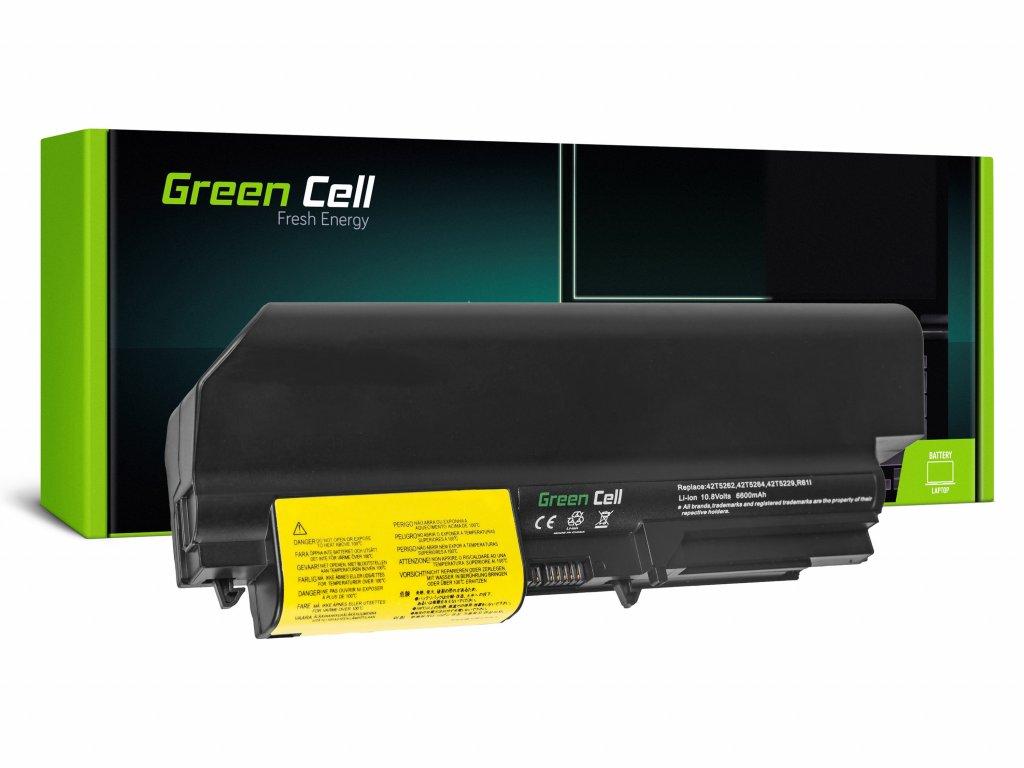 Baterie pro Lenovo ThinkPad R61 T61p R61i R61e R400 T61 T400 / 11,1V 6600mAh