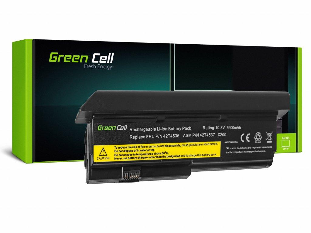 Baterie pro Lenovo ThinkPad X200 X201 X200s X201i / 11,1V 6600mAh
