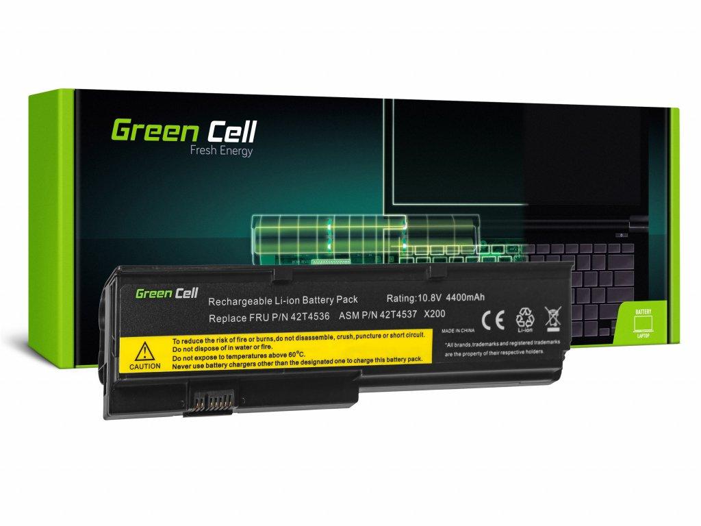 Baterie Lenovo ThinkPad X200 X201 X200s X201i / 11,1V 4400mAh