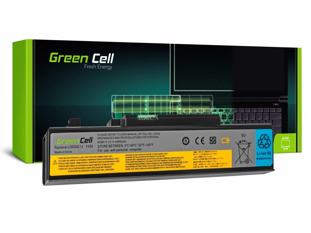 Baterie Lenovo IdeaPad Y450 Y450A Y450G Y550 Y550A Y550P / 11,1V 4400mAh