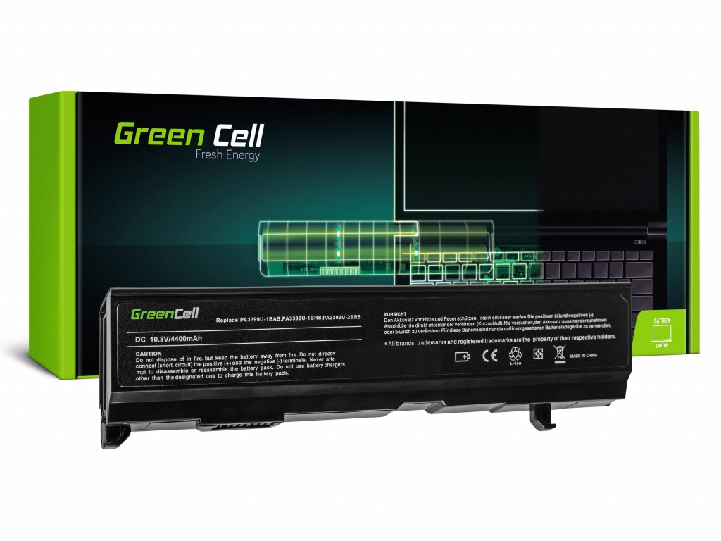Baterie pro Toshiba Satellite A80 A100 A105 M40 M50 Tecra A3 A6 / 11,1V 4400mAh